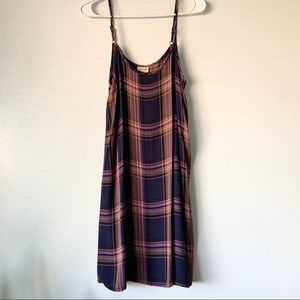 Vintage style Mossimo Plaid Hippie Boho Dress